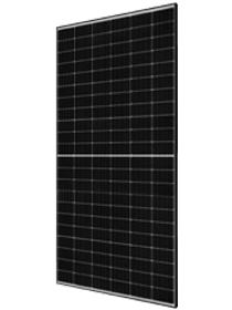 JA Solar 490W Mono PERC Half-Cell MBB Black Frame